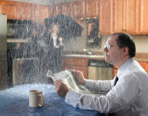 Plumbing leakage in house